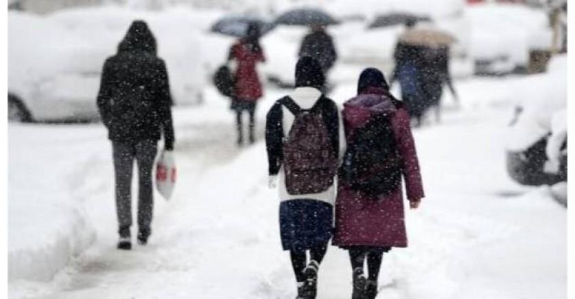 9 ilde olumsuz hava koşulları nedeniyle okullar tatil!