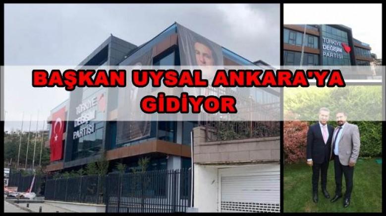 BAŞKAN UYSAL ANKARA'YA GİDİYOR