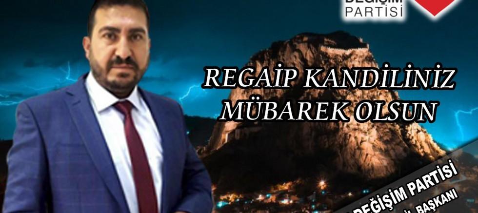 Başkan Uysal'dan Regaip Kandili mesajı