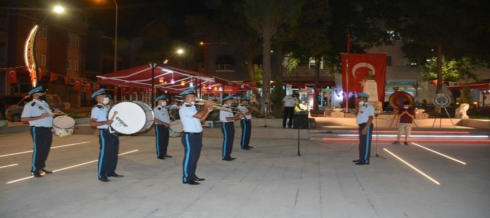Belediye Bandosundan 30 Ağustos Zafer Bayramı'na özel konser
