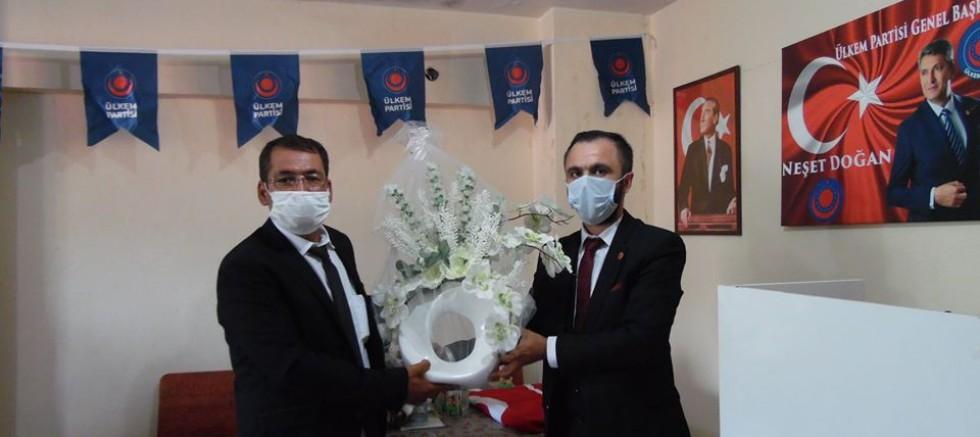 Burdur'da ÜLKEM Partisi Merkez İlçe Başkanı Ali ÖZKAN oldu