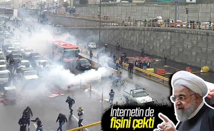 İran gösteriler nedeniyle internete erişimi kesti