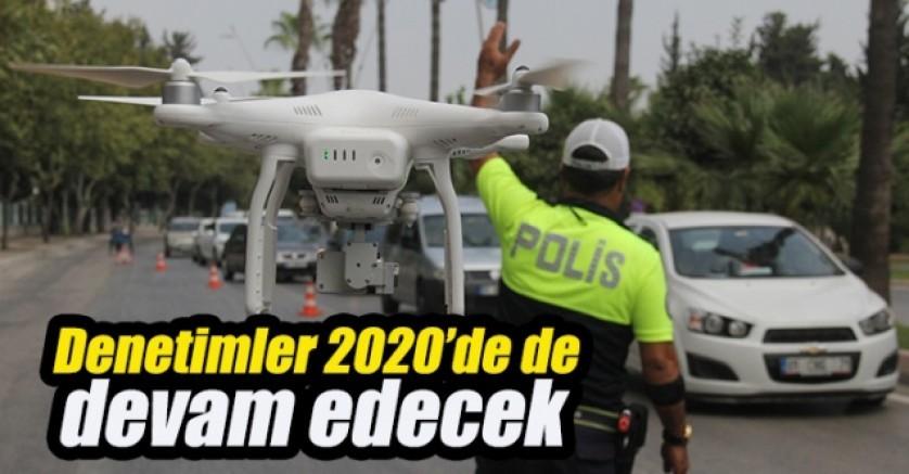 Polis 'drone'lu uygulamaları artıracak