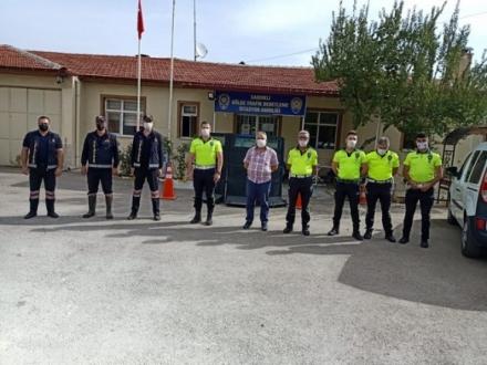 Sandıklı Belediyesi İtfaiye Müdürlüğü'nden yangın söndürme eğitimi