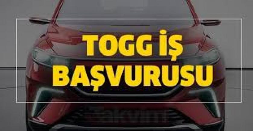 TOGG Araba Fabrikası İşçi Alımı Başvuru Formu