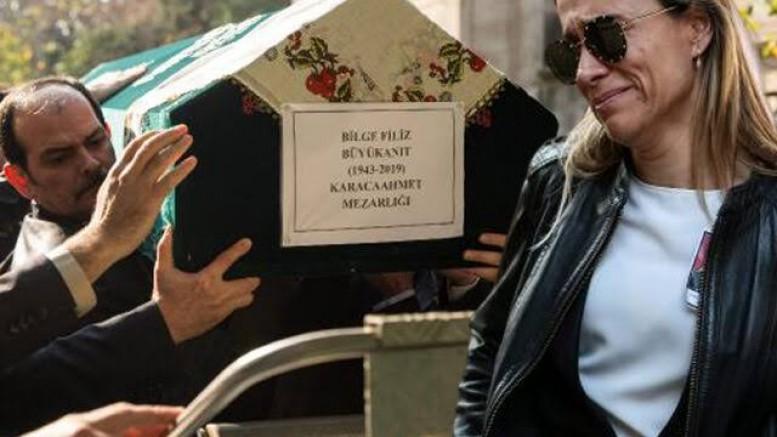 Yaşar Büyükanıt'ın eşi Filiz Büyükanıt son yolculuğuna uğurlandı